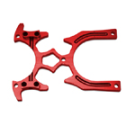 CNC METAL TRANSMITTER STAND-RED
