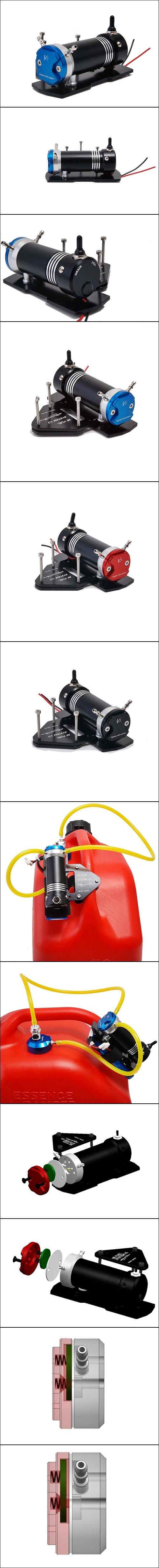 Secraft V3 Fuel System